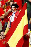 GEPA-2206086816 - WIEN,AUSTRIA,22.JUN.08 - FUSSBALL - UEFA Europameisterschaft, EURO 2008, Spanien vs Italien, ESP vs ITA, Viertelfinale. Bild zeigt einen Spanien-Fan.<br />Foto: GEPA pictures/ Felix Roittner