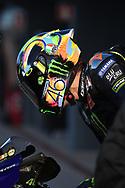 #46 Valentino Rossi, Italian: Movistar Yamaha MotoGP during 2020 MotoGP Testing at Circuito Ricardo Tormo Cheste, Valencia, Spain on 19 November 2019.