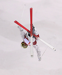 Canada's Mikael Kingsbury practices during the Freestyle Skiing mens Moguls Entries by Event during a preview day at the Phoenix Snow Park, ahead of the PyeongChang 2018 Winter Olympic Games in South Korea.