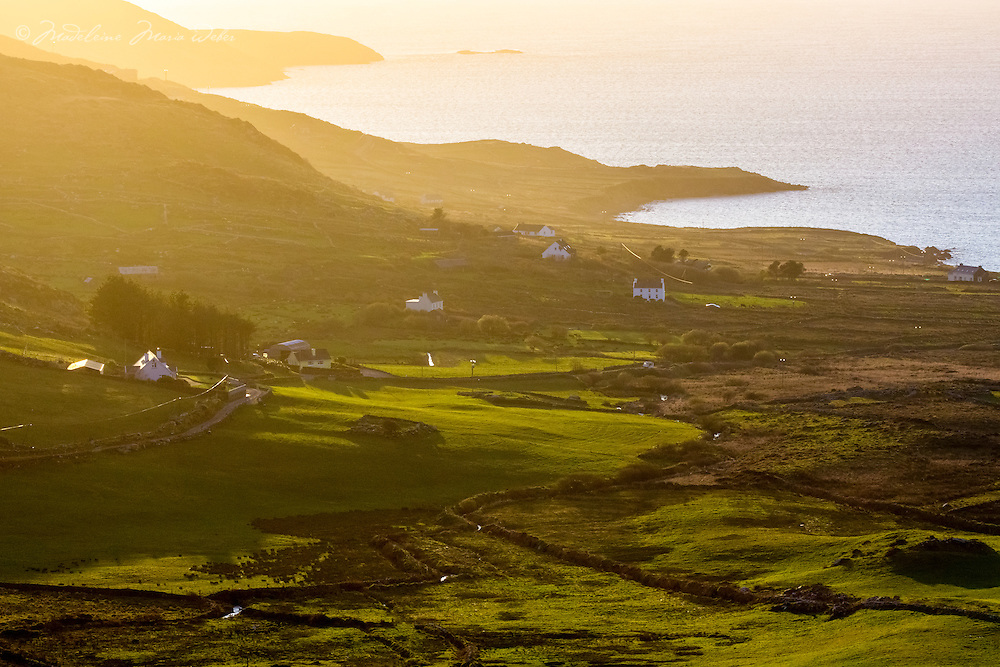 Sunset at Hog's Head, Loher Co. Kerry, Ireland