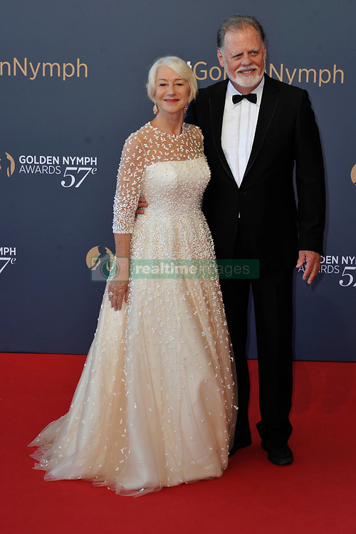 Celebrities attend the Closing ceremony of the 57th Monte Carlo TV Festival. 20 Jun 2017 Pictured: Helen Mirren, Taylor Hackford. Photo credit: Newspictures/ MEGA TheMegaAgency.com +1 888 505 6342