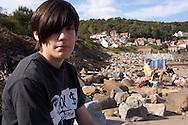 Runswick Bay - North Yorkshire - England - teenage anxiety
