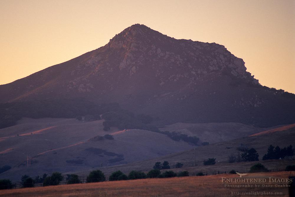 Sunset over Cerro Romaldo near San Luis Obispo San Luis Obispo County, CALIFORNIA
