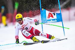 14.02.2020, Zwölferkogel, Saalbach Hinterglemm, AUT, FIS Weltcup Ski Alpin, Super G, Herren, im Bild Max Franz (AUT) // Max Franz of Austria in action during his run for the men's SuperG of FIS Ski Alpine World Cup at the Zwölferkogel in Saalbach Hinterglemm, Austria on 2020/02/14. EXPA Pictures © 2020, PhotoCredit: EXPA/ Johann Groder