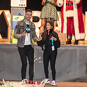 NLD/Amsterdam/20191206 - Sky Radio's Christmas Tree For Charity 2019, Saar Koningsberger en Rutger Vink