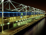 Excel Exhibition Centre at Night, London Docklands