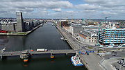 12-5-2020 During Lockdown Dublin Port, and Docklands Area extra quiet, Treminal 3 Empty, Quay's,