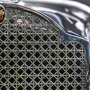The radiator grill on a 1931 Packard Light Eight at the Greenwich Concours d'Elegance Festival of Speed and Style featuring great classic vintage cars. Roger Sherman Baldwin Park, Greenwich, Connecticut, USA.  2nd June 2012. Photo Tim Clayton