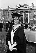 Degrees at Trinity College Dublin. Miss Elizabeth Williamson..06.12.1962