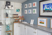 Jewellery designed and made by Kenny Scott of Ash Glass Design. The pieces are all handmade silver and gold jewellery with glass inserts containing ash from loved pets and relatives. Kenny makes the pieces in his studio in the Scottish Borders, using traditional lampworking techniques.