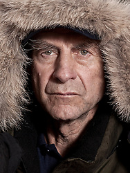 © Licensed to London News Pictures. 17/09/2012. London, United Kingdom ..Sir Ranulph Fiennes at a press call to announce he will be leading a team to take on the last remaining polar challenge by attempting to cross Antarctica in winter, the coldest journey on Earth...Photo credit : Chris Winter/LNP