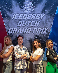 10-04-2019 NED: Kick off of Icederby in Thialf 2019/2020, Almere<br /> The Ultimate Icederby between long track and short track speed skating comes to invade the Netherlands / Arianna Fontana, Suzanne Schulting, Jorien ter Mors, Jutta Leerdam