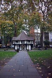 UK ENGLAND LONDON 23NOV11 - Scene in Soho Square in the West End, central London.....jre/Photo by Jiri Rezac....© Jiri Rezac 2011