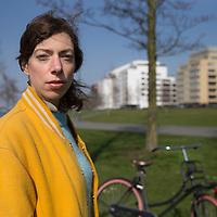 Nederland, Amsterdam, 16 maart 2017.<br /> Hanna Bervoets<br /> Hanna Marleen Bervoets is een Nederlandse schrijfster, journaliste en columniste<br /> <br /> <br /> <br /> Foto: Jean-Pierre Jans