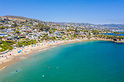 Aerial View of Laguna Beach Real Estate