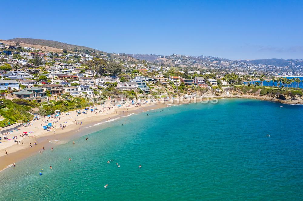 Aerial View of Laguna Beach Real Estate