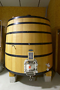 syrah wooden vats domaine giraud chateauneuf du pape rhone france
