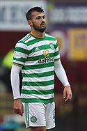 Albian Ajeti (Celtic) during the Scottish Premiership match between Motherwell and Celtic at Fir Park, Motherwell, Scotland on 8 November 2020.