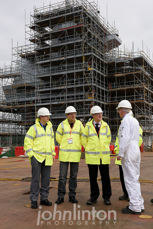 PHOTO CREDIT JOHN LINTON/BAE<br /> <br /> First Use Supplied Courtesy of BAE Systems Naval Ships<br /> <br /> Stephanie Davis<br /> Employee Engagement Associate<br /> T 01622778969   M 07525080786   F 0141 957 4866<br /> stephanie.davis2@baesystems.com<br /> <br /> John Linton Photography<br /> 07986592673<br /> john@lintonpix.com