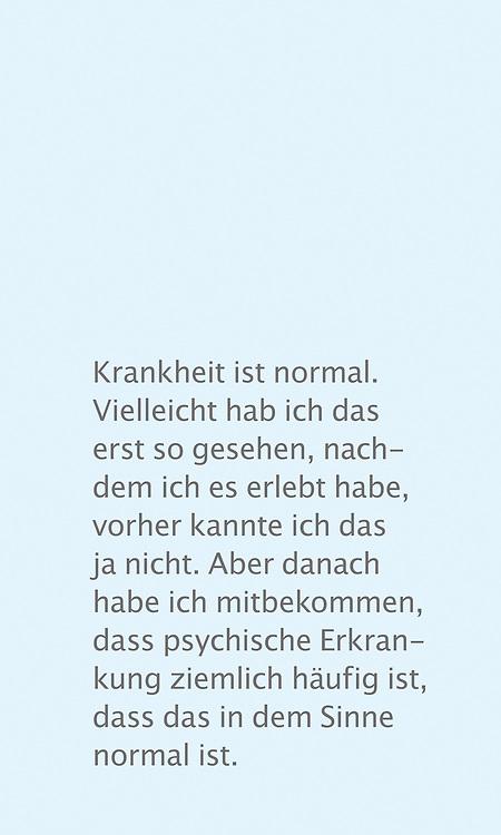 Wanderausstellung gegen die Stigmatisierung von Menschen mit psychischen Erkrankungen. Im Auftrag von Brücke Elmshorn, gefördert von Aktion Mensch.