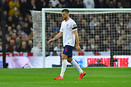 Subsitution - Eric Dier of England looks dejected as he walks off injured and is replaced by Ross Barkley of England during the UEFA European 2020 Qualifier match between England and Czech Republic at Wembley Stadium, London, England on 22 March 2019.