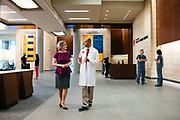 2017 May 11 - Photos at Nebraska Medicine's new Fred and Pamela Buffett Cancer Center for an ad campaign.