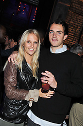 LADY NATASHA HOWARD and VISCOUNT ERLEIGH at a party to celebrate the launch of the new Vertu Constellation phone - the luxury phonemakers first touchscreen handset, held at the Farmiloe Building, St.John Street, Clarkenwell, London on 24th November 2011.