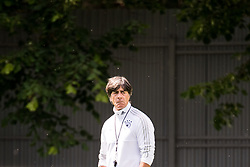 June 13, 2018 - Moscow, Russia - 180613 Joachim Low coach of Germany during a practice session ahead of the 2018 FIFA World Cup on June 13, 2018 in Moscow..Photo: Petter Arvidson / BILDBYRN / kod PA / 92061 (Credit Image: © Petter Arvidson/Bildbyran via ZUMA Press)