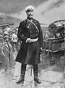 Anatoly Mikhaylovich Stossel (1848-1915) Russian general in command of Port Arthur 1904, during Russo-Japanese War, 1904-1905.