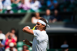 July 3, 2018 - London, U.S. - LONDON, ENGLAND - JULY 03: RAFAEL NADAL (ESP) during day two match of Wimbledon on July 3, 2018, at All England Lawn Tennis and Croquet Club in London, England. (Photo by Chaz Niell/Icon Sportswire) (Credit Image: © Chaz Niell/Icon SMI via ZUMA Press)