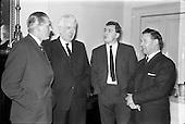 1963 - Bord Bainne meet Northern Ireland Milk Board at the Shelbourne Hotel