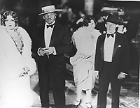 1927 Wallace Berry at the movie premiere of King of Kings at Grauman's Chinese Theater