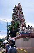 Sri Mariamman hindu temple Pagoda Street, Singapore