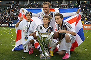 Beckham and Sons at MLS Cup 2012