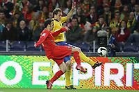 20090328: PORTO, PORTUGAL - Portugal vs Sweden: World Cup 2010 Qualifying Match. In picture: ricardo carvalho and elmander PHOTO: Ricardo Estudante/CITYFILES