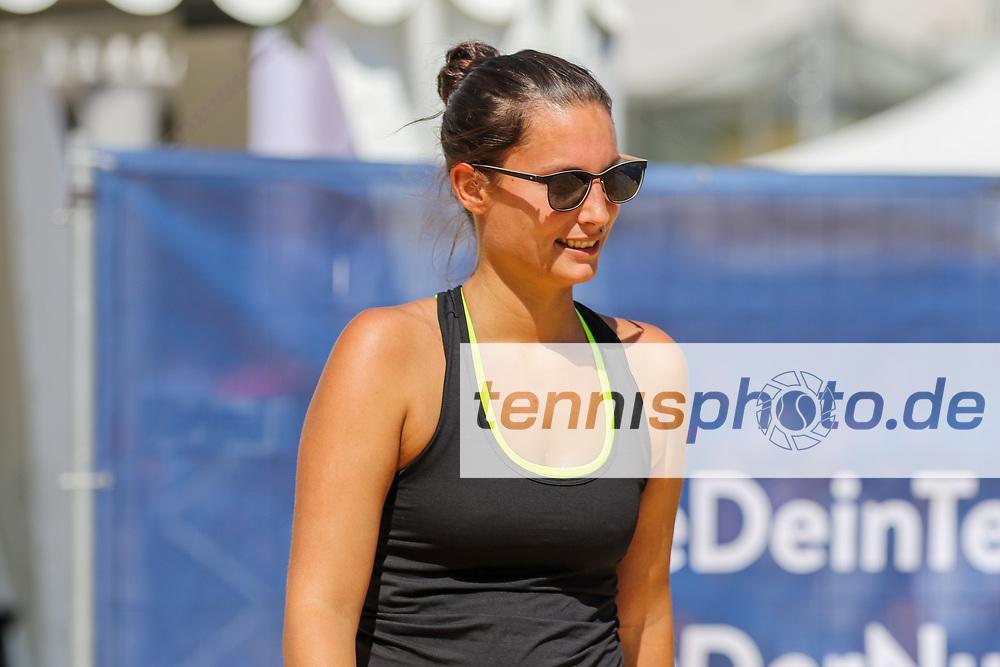 Judith EHL, Beach Tennis, Deutsche Meisterschaften und ITF Beach Tennis Saarlouis 2019, Kleiner Markt in Saarlouis, 23.08.2019, Foto: Claudio Gärtner