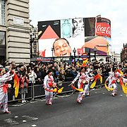 London New Year Day Parade 2019