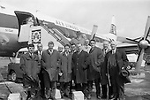 1964 - F.A.I. party leave for Continental Tour