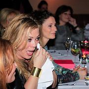 NLD/Laren/20130318 - Uitreiking Nannic Awards 2013, een geemotioneerde Antje Monteiro wint de Award