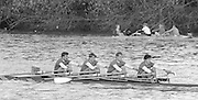 London, Great Britain.<br /> NCRA, Quad, Bow Chris BATES, Peter HAINING, Neil STAITE and Stuart FORBES.<br /> 1986 Fours Head of the River Race, Reverse Championship Course Mortlake to Putney. River Thames. Saturday, 15.11.1986<br /> <br /> [Mandatory Credit: Peter SPURRIER;Intersport images] 15.11.1986