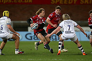 Gloucester Rugbys Billy Twelvetrees during the Gallagher Premiership Rugby match between Gloucester Rugby and Bristol Rugby at the Kingsholm Stadium, Gloucester, United Kingdom on 12 February 2021.