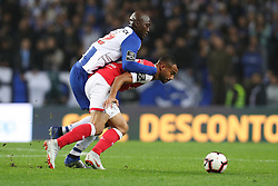 November 10, 2018 - Porto, Porto, Portugal - Porto's Portuguese midfielder Danilo Pereira (L) vies with Sporting Braga's Brazilian defender Bruno Viana (R) during the Premier League 2018/19 match between FC Porto and SC Braga, at Dragao Stadium in Porto on November 9, 2018. (Credit Image: © Dpi/NurPhoto via ZUMA Press)