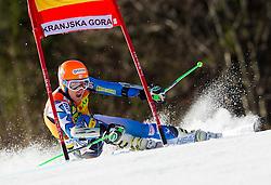 LIGETY Tedof USA competes during 1st Run of 8th Men's Giant Slalom - Pokal Vitranc 2012 of FIS Alpine Ski World Cup 2011/2012, on March 10, 2012 in Vitranc, Kranjska Gora, Slovenia.  (Photo By Vid Ponikvar / Sportida.com)