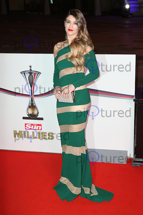 Amy Willerton, The Sun Military Awards Millies, Guildhall, London UK, 14 December 2016, Photo by Richard Goldschmidt