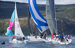 Pelle P Kip Regatta 2019 Day 1<br /> <br /> Light and bright conditions for the opening racing on the Clyde keelboat season<br /> GBR1121L, Tangaroa, Eliz & Des Balmforth, CCC, Pronavia 38, GBR7096N, Autism on the Water, Murray MacDonald, PEYC, OSC, RNCYC, Hunter 707 OD
