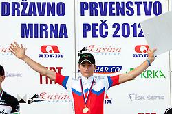 Luka Pibernik of KK Radenska after Slovenian National Championship Mirna Pec 2012, on June 24, 2012, in Mirna Pec, Slovenia. (Photo by Urban Urbanc / Sportida.com)