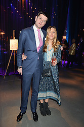 The HON.ALEXANDER SPENCER-CHURCHILL and SCARLETT STRUTT at A Night of Motown in aid of Save The Children UK held at The Roundhouse, Chalk Farm Road, London on 3rd March 2016.