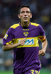 Zoran Pavlovic of Maribor at Third Round of Champions League qualifications football match between NK Maribor and FC Zurich,  on August 05, 2009, in Ljudski vrt , Maribor, Slovenia. Zurich won 3:0 and qualified to next Round. (Photo by Vid Ponikvar / Sportida)