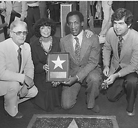 1977 Bill Cosby's Walk of Fame ceremony