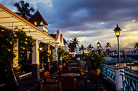 Indonesia, Sulawesi, Manado. Sunset Cafe in Manado, where you can watch the sunset.